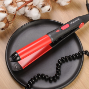 Curling iron - straightener VHS-120_red