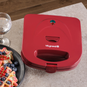 Waffle VW0753M_red