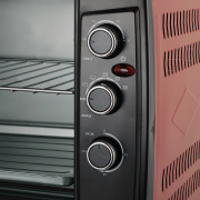 Electric oven VEO650-18_red
